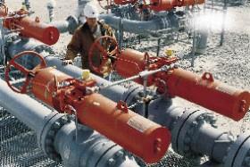 Gas Turbine Diverter Damper Skid