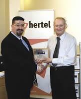 Geoff O�Donnell of Hertel