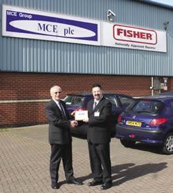 Ken Hayward of MCE Group plc