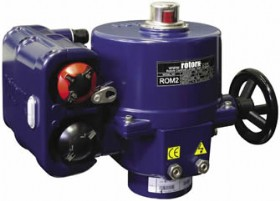 The Rotork ROMpak Model ROM2 valve actuator