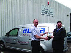 Ian Sully of Auma Actuators Ltd 