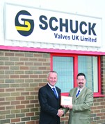 David Melrose, Shuck Valves UK Ltd