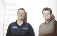 Peder Hägglund and Tommy Nielsen of Iggesund Paperboard have developed a predictive maintenance strategy for control valves