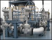 Rotork IQPro valve actuators with thrust compensatorsinstalled on the new Mitsui Chemicals plant.