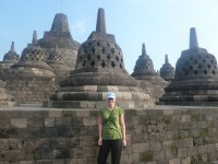 Congratulations to Kenneth Allan of Honeywell, Motherwell, who correctly identified that Abi Collins was pictured last time at the Borobudur Temple, Java.  �50 goes to the Prince & Princess of Wales Hospice, Glasgow.