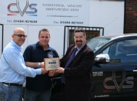Andrew Cliffe and Mark McParland of Control Valve Services Ltd