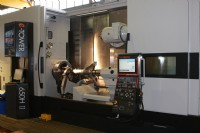 One of CTL's two Mazak E650 Intrgrex millturn machining centres.