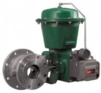 Emerson's Fisher V150E Vee-Ball valve features expanded outlet for the control of medium consistency fibre slurries
