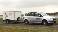 AUMA�s portable training unit, as deployed at Chigwell WTW
