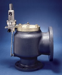 Anderson Greenwood series 400 modulating pilot operated pressure relief valve
