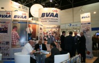 The BVAA stand at Valve World 2010