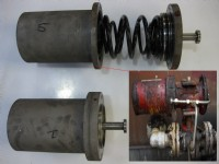 CVS Before and after repair to corroded actuator.