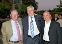 The founders of Smith Flow Control (from L to R) Mike Smith, Malcolm Brown and Mike Danzieri.