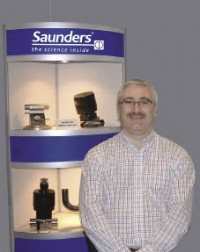 David Jones, Vice President and General Manager of Saunders