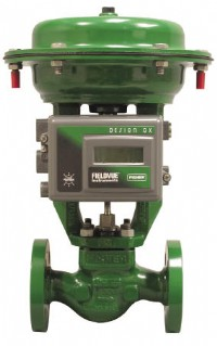 Emerson announces new capabilities for the Fisher® GX control valve and actuator system range