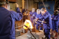 Valve body castings being made at the John Mills site in Newcastle