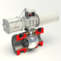 Flowserve Valbart Trunnion-Mounted Control Ball Valve