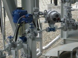 Rotork CVA (left) and IQT valve