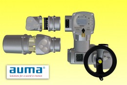 Plug-and-play modular AUMA technology benefits the