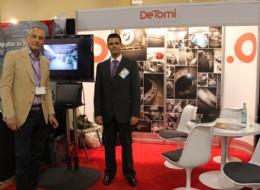Mr Danilo de Tomi and Mr Andrea Lana from DeTomi, Italy