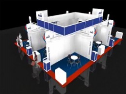 The proposed Group Stand at Valve World.