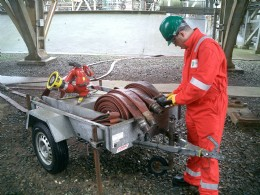 Plant inspection of Fire Hoses