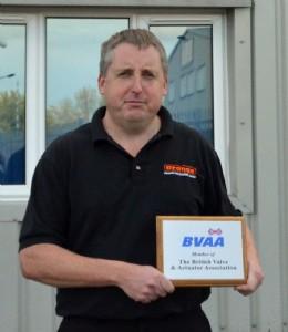 Brian Driver of Orange Instruments Ltd