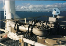 Offshore platform piping