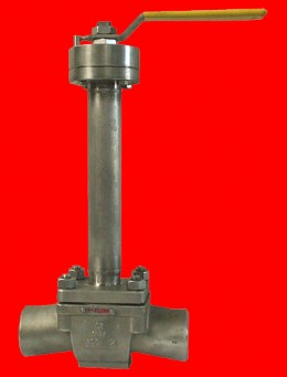 Firesafe certified cryogenic top entry ball valve