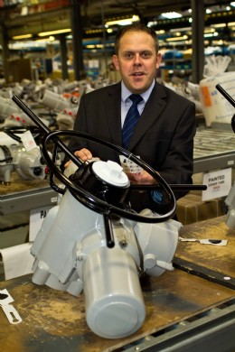 Tim Bessex has joined Rotork as Sales Director for Rotork Controls Ltd