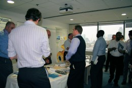 BVAA filled two rooms for a mini Exhibition at Amec London