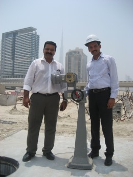 One of the actuators supplied by AUMA to the Dubai Electricity and Water Authority