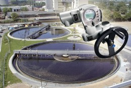 A new Generation .2 AUMA actuator and wastewater scheme