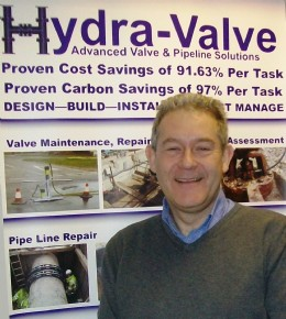 Martin Hunt, Hydra-Valve�s new Group General Manager