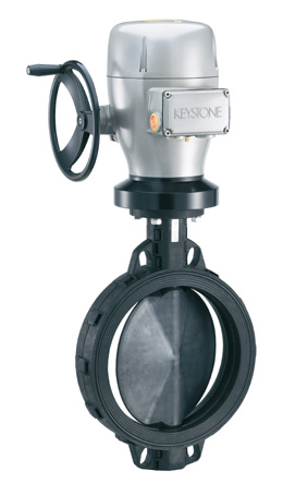 Tyco�s Keystone CompoSeal� butterfly valve