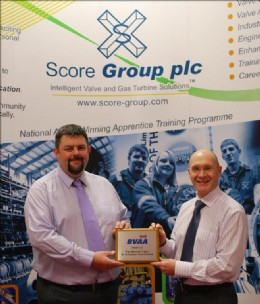 Conrad Ritchie and Dave Anderson of Score Europe