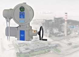 The SIPOS 5 HiMod actuator supplied for a $170 million power plant project in Chile