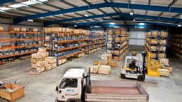 HSP Teesside Warehouse and Inventory