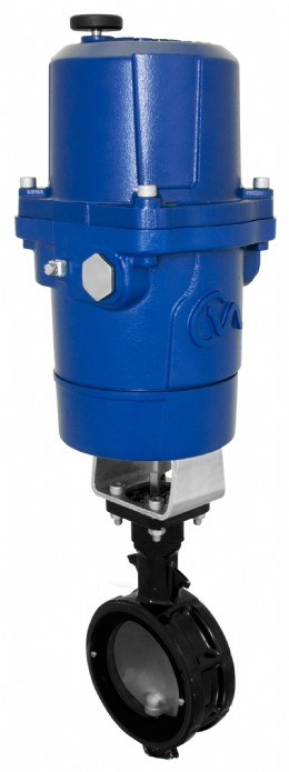 The new Rotork CMA (Compact Modulating Actuator) provides allelectric control valve operation