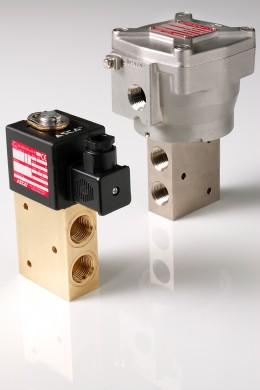 ASCO Numatics Series 327 Ex d solenoid valves
