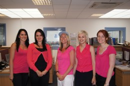 Heap's pink day for charity