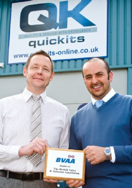 Mick Durkin and Rob Smith of Quickits