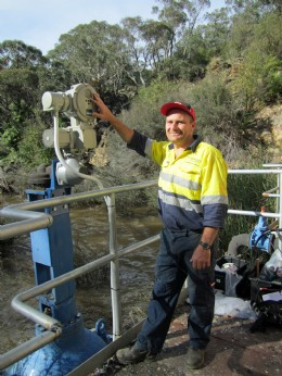SIPOS 5 Flash actuation provides advanced automation at Captains Flat Dam