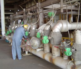 Rotork K-TORK actuators installed on two units at the AEP