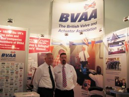 Achema: BVAA's Peter Churm and Rob Bartlett