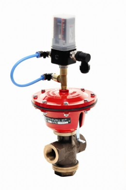 Northvale Korting Mini Control Valve with 2 way or 3 way I to P 4 to 20 milliamp positioner
