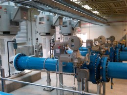 SIPOS actuators support a new ECCV high service water delivery pump station