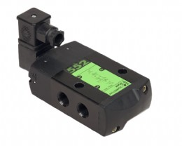 ASCO Numatics 552 valves, a key component of the cabinets being supplied to ISE for SABIC
