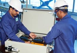 The manufacture of cabinets containing ASCO Numatics valves in Emerson's Dubai facility