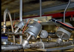 Angle seat valves and sliding gate valves on duty at Continental in P�chov.